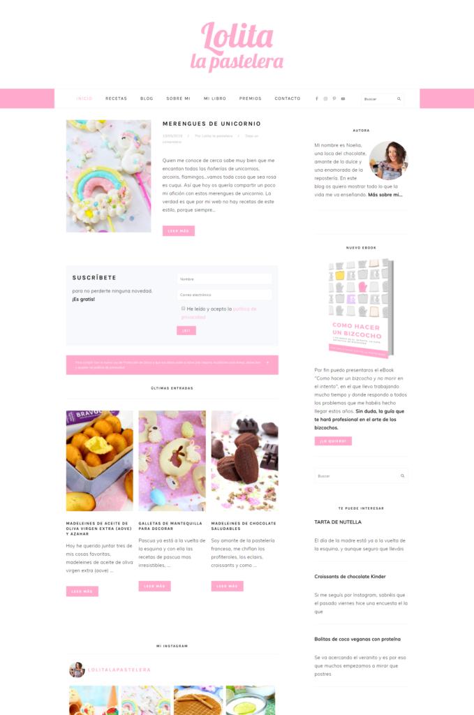 Blog de Lolita la pastelera