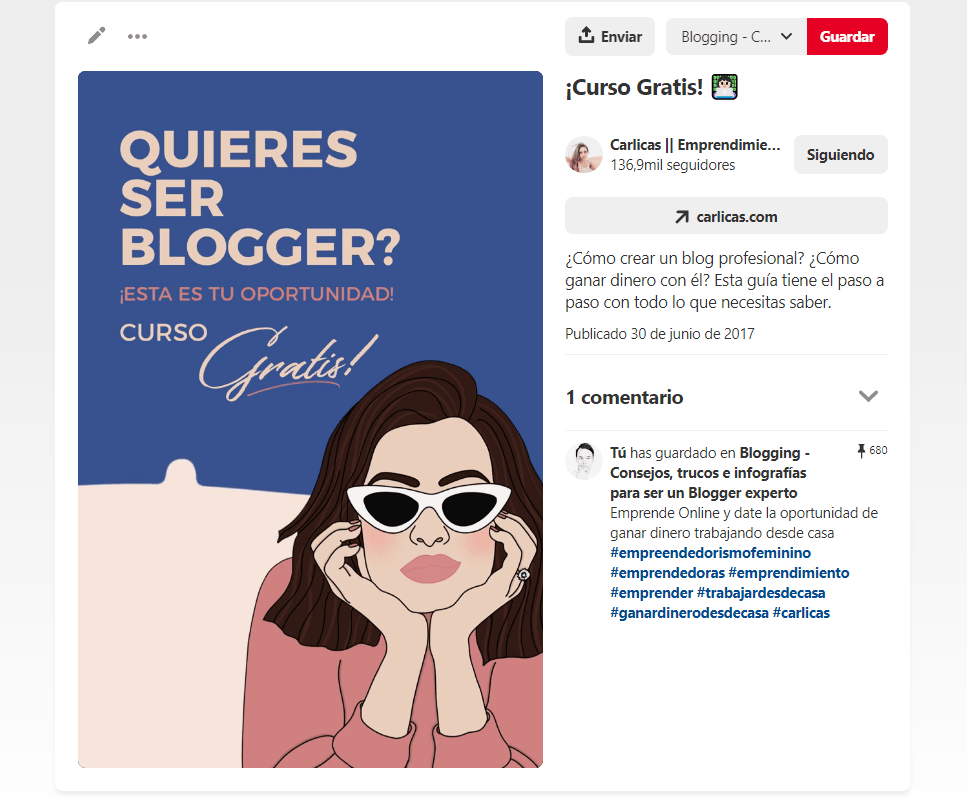 Trucos de tableros secretos en Pinterest