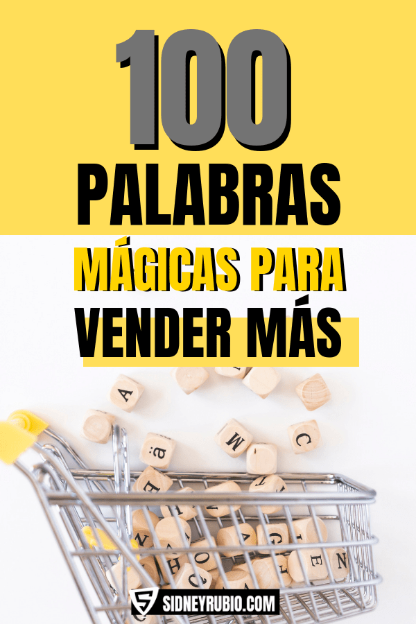 100 palabras mágicas para vender más