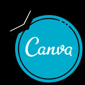 Logotipo del curso de Canva que imparte Sidney Rubio