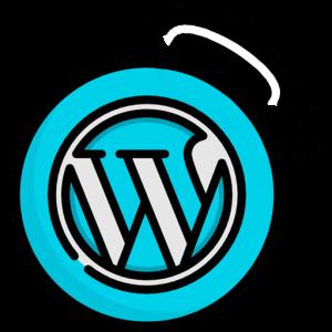 Logotipo del curso de WordPress que imparte Sidney Rubio